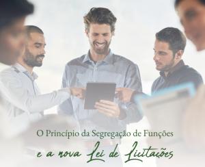 O Princípio da Segregação de Funções e a Nova Lei de Licitações